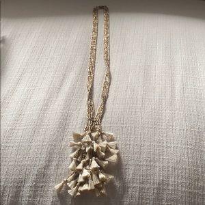 Banana Republic Tassel Pendant Necklace